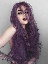 Halloween Side Part Long Synthetic Body Wavy Wig -