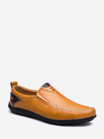 Moc Toe Slip On Doug Shoes - YELLOW - EU 39
