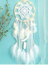 Light Dream Catcher Crochet Hanging Decoration -