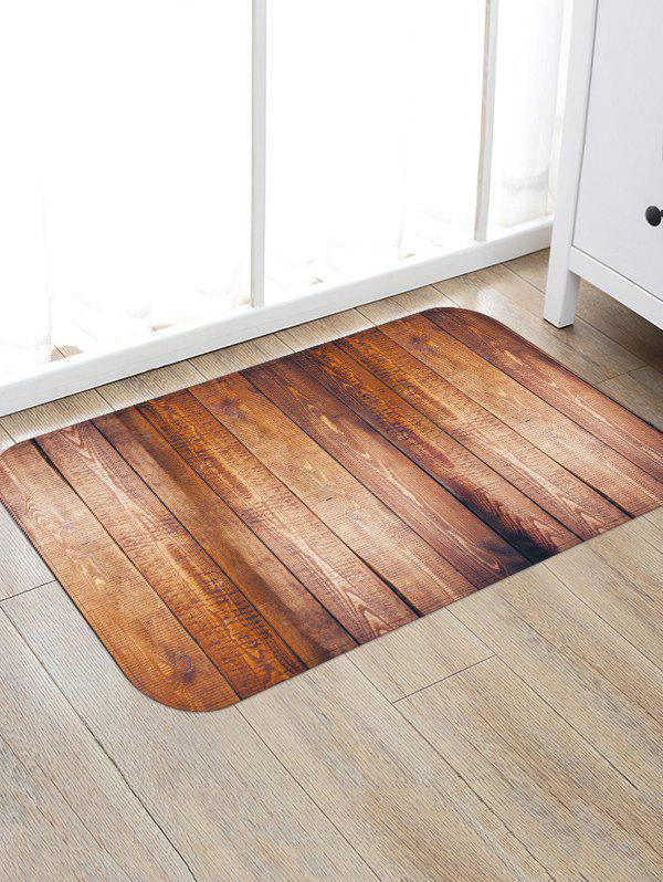 Best Non-Slip Quick Dry Plank Pattern Floor Pad Rug