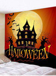 Halloween Character Bat Print Art Decoration Wall Tapestry -