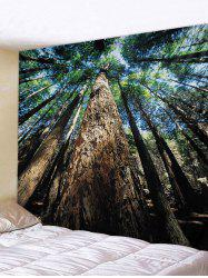 Forest Sky Printed Tapestry Wall Hanging Art Decor -