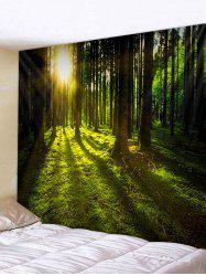 3D Print Sunshine Forest Wall Tapestry -