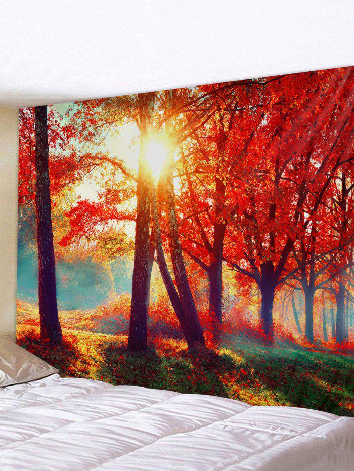 Buy Maple Tree Forest 3D Print Wall Tapestry