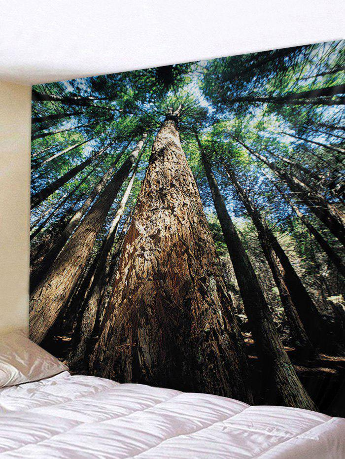 Discount Forest Sky Printed Tapestry Wall Hanging Art Decor