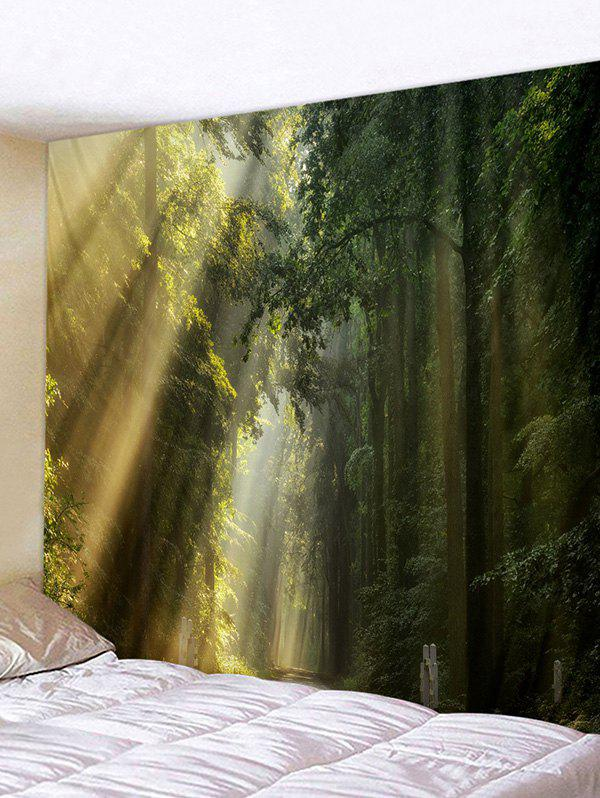 Sale Fog Forest 3D Print Wall Hanging Tapestry