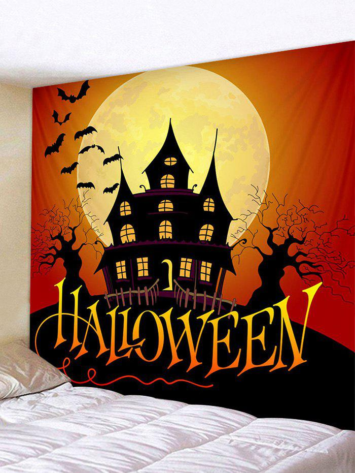 Unique Halloween Character Bat Print Art Decoration Wall Tapestry