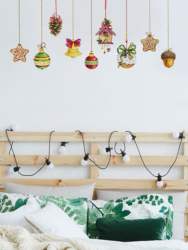 Hot Christmas Hanging Decorations Print Wall Art Stickers