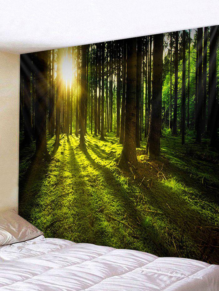 Fashion 3D Print Sunshine Forest Wall Tapestry
