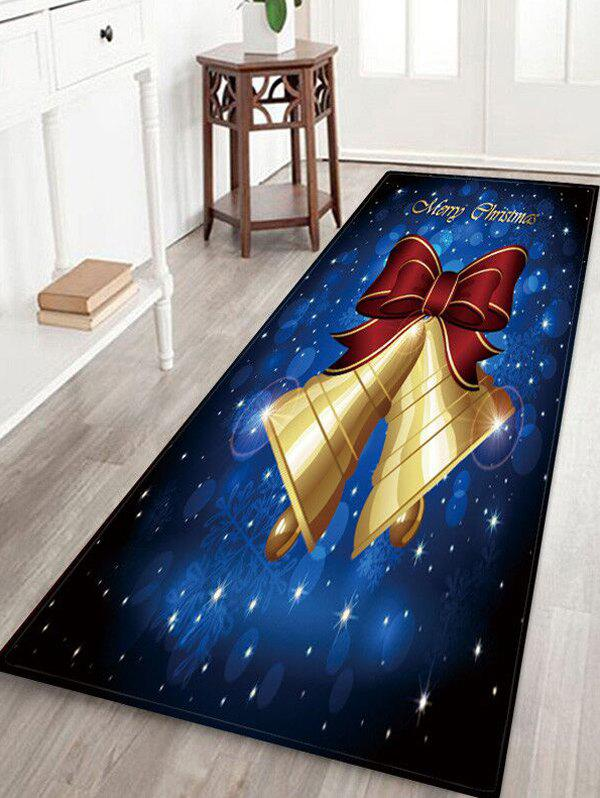 Shop Merry Christmas Bell Print Rug