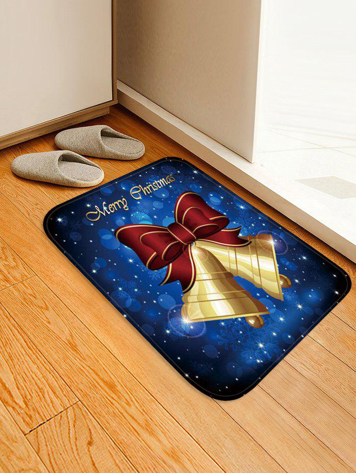 Fashion Merry Christmas Bell Print Rug