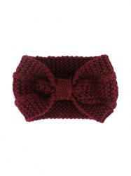 Bowknot Knitted Hair Band -