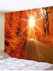 Fall Sun Art Decoration Wall Tapestry -