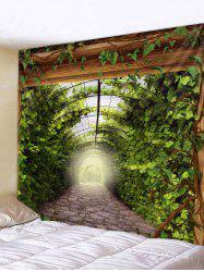Leaves Path Art Decoration Wall Tapestry -