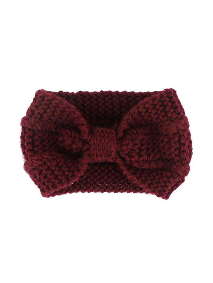 Outfit Bowknot Knitted Hair Band