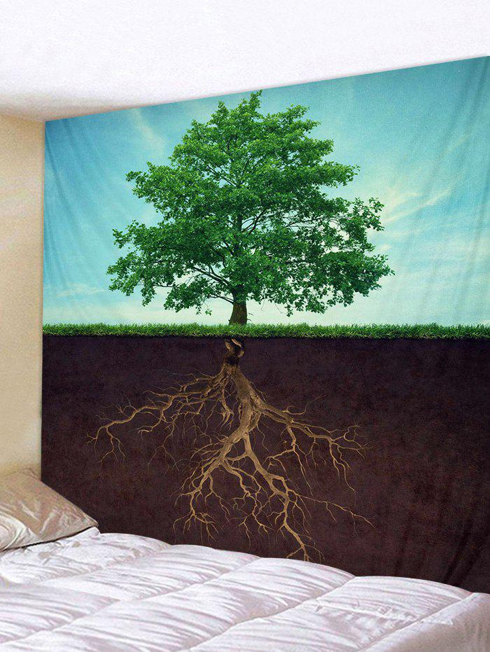 Best Tree and Root Print Tapestry Wall Hanging Art Decoration