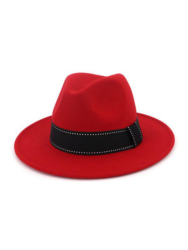 Best Vintage Colorblock Jazz Hat