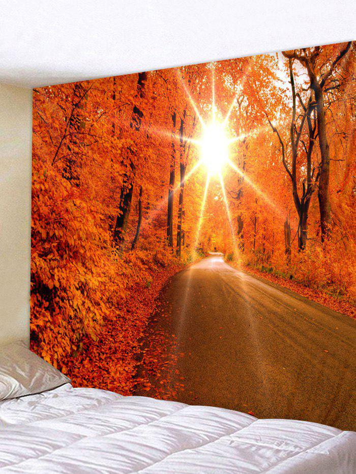 Outfit Fall Sun Art Decoration Wall Tapestry