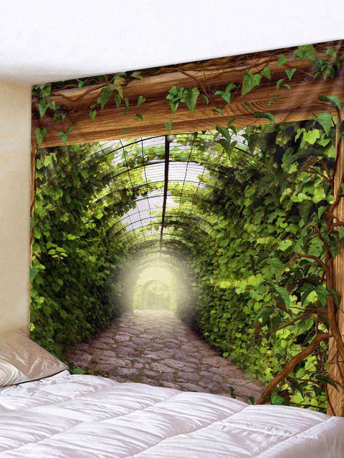Outfit Leaves Path Art Decoration Wall Tapestry