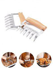 1PC Wooden Handle Bear Claw Meat Grinder -