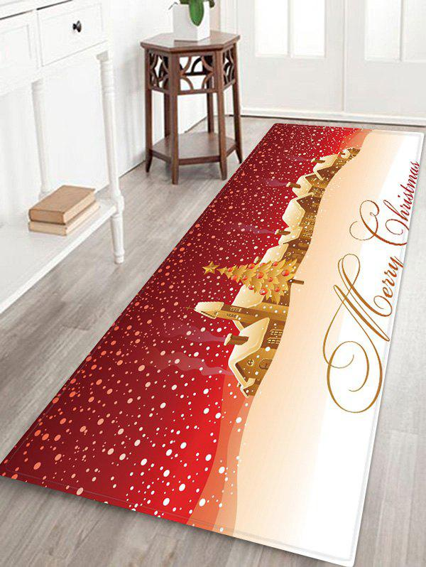 Outfits Merry Christmas Tree Pattern Floor Rug