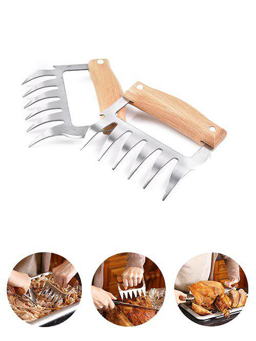 Shop 1PC Wooden Handle Bear Claw Meat Grinder