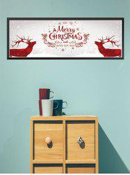 Merry Christmas Pattern Wall Sticker -