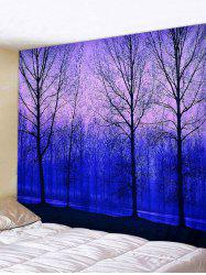 Forest and River Print Tapestry Wall Hanging Art Decoration -