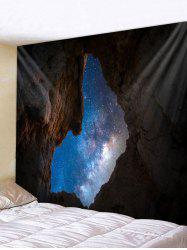 Cave Galaxy Print Tapestry Wall Hanging Art Decoration -