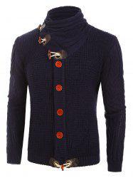 Button Decoration Knitted Cardigan -