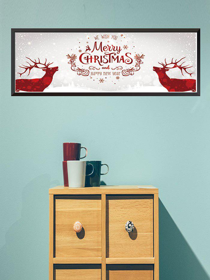 Hot Merry Christmas Pattern Wall Sticker
