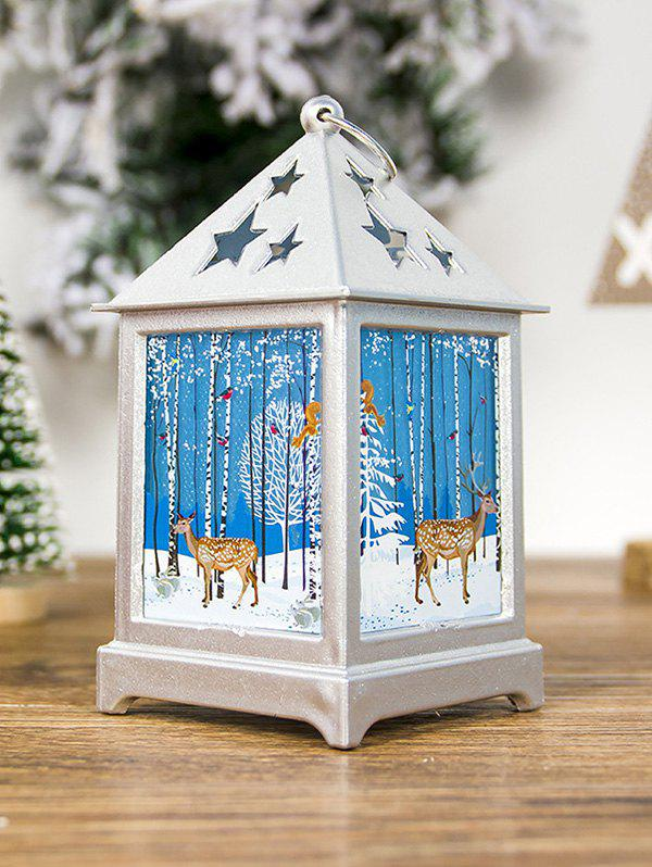 Discount Christmas Tree Hollowed Star Printed Decorative Light