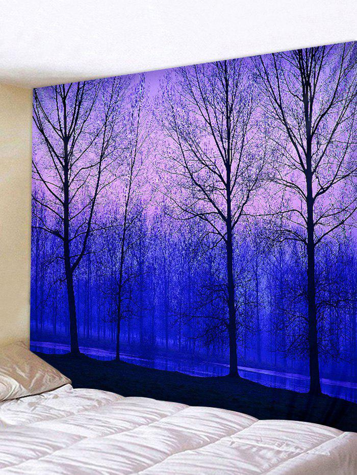 Fancy Forest and River Print Tapestry Wall Hanging Art Decoration