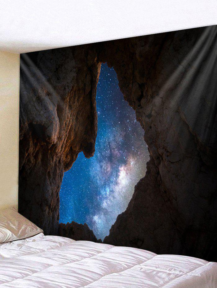 Shops Cave Galaxy Print Tapestry Wall Hanging Art Decoration