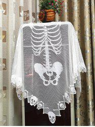Halloween Party Skull Cape -