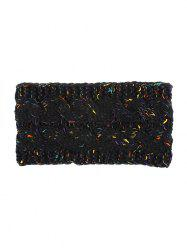 Brushed-wool Winter Knitted Hair Band -