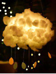 DIY Cloud And Raindrop Shape Hanging Decoration -