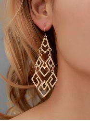 Hollow Out Geometric Dangle Earrings -