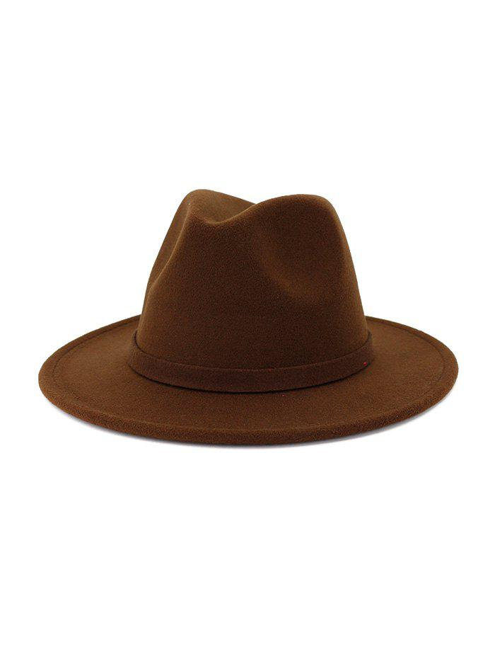 New Classic Woolen Floppy Jazz Hat