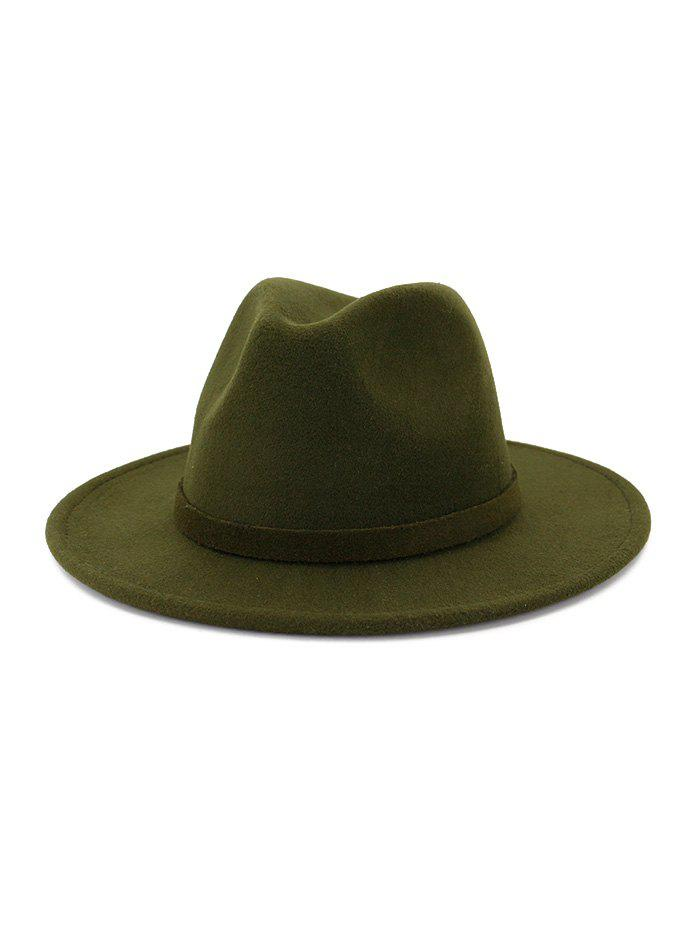 Hot Classic Woolen Floppy Jazz Hat