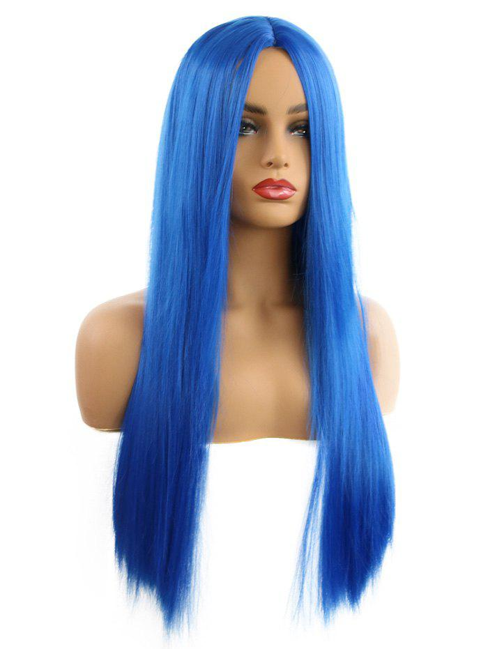 Trendy Synthetic Center Part Long Straight Cosplay Wig