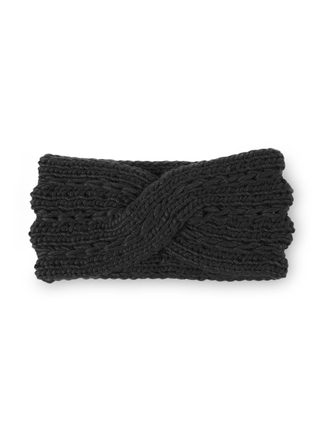 Store Cross Bowknot Knitted Winter Hair Band