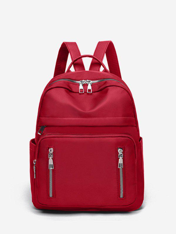 Buy Double Zipper Design Big Casual Backpack