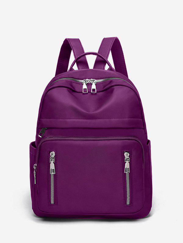 Store Double Zipper Design Big Casual Backpack