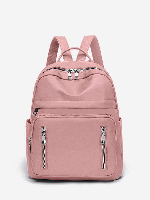 New Double Zipper Design Big Casual Backpack