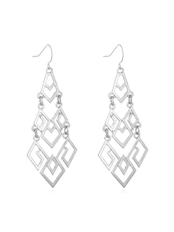 Store Hollow Out Geometric Dangle Earrings