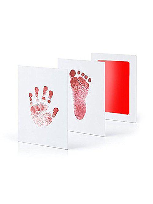 Chic Baby Hand Print Footprint Imprint Kit Baby Souvenirs Casting Newborn Footprint Ink Pad