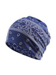 Geometric Pattern Sports Scarf Hat -