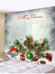 Christmas Tree Branch Print Tapestry Wall Hanging Art Decoration -