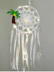 Lace Floral Design Dream Catcher -